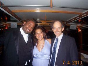 DJ Monk, Jo Blackwell-Preston and Clive Swersky