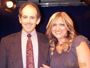 Clive Swersky with Irena Hart