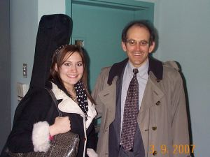 Jessica Labus with Clive Swersky