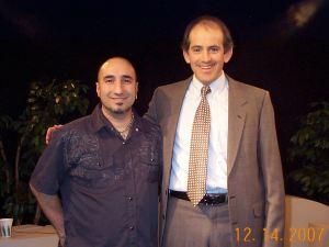 John Taglieri with Clive Swersky