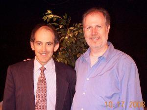 Clive Swersky with Joe Travers