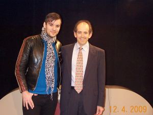 Daniel Angelus with Clive Swersky