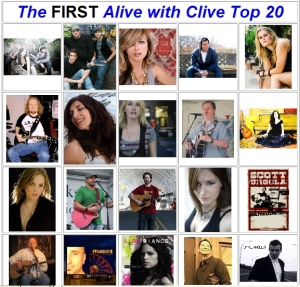 The FIRST Alive with Clive Top 20 -- Front Cover