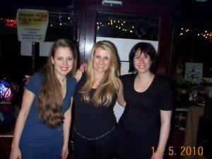 Melissa Wrolstad, Kylie Edmond and Anna Troy
