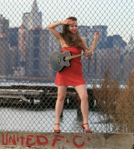 Singer/songwriter, Melissa Wrolstad