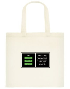 """The """"I'm Alive with Clive"""" Tote Bag"""