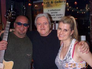 Robert Daniels, Elliott Glick and Kylie Edmond