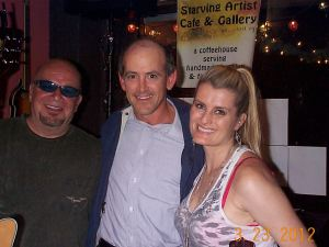 Robert Daniels, Clive Swersky and Kylie Edmond