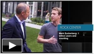 Matt Lauer & Mark Zuckerberg