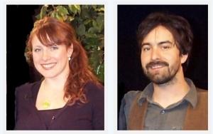 Rachel Epp and Greg Daniel Smith