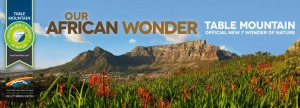 Table Mountain, the New 7 Wonder of Nature