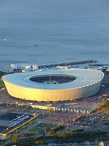 Cape Town Stadium, built for the 2010 FIFA World Cup