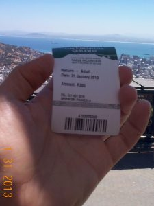 Round-trip ticket to ride the Cableway