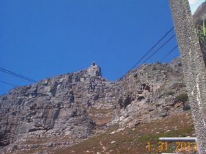 Cable Station at the top of Table Mountain