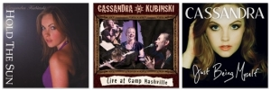 Cassandra Kubinski's Three CDs